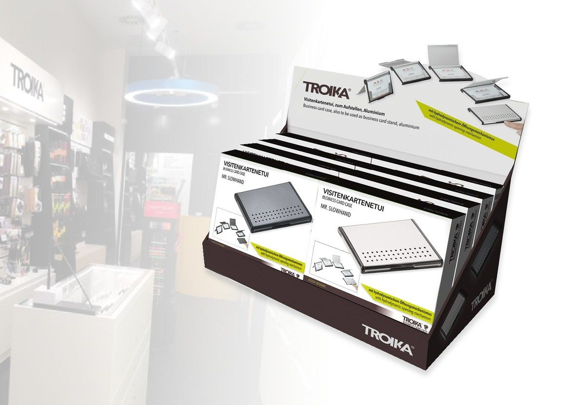 Counter Display Mit 8 Stk Mr Slowhand Troika Onlineshop Gmbh